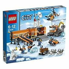 Lego City Snow Base Camp and Crawler Drill 60036 w/Tracking# New Japan