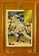 Derek Jeter Signed Bowman Card