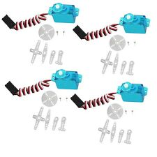 4pcs Mini micro 5g rc Servo for Rc helicopter Airplane Foamy Plane NEW  F