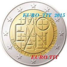 2 €    SLOVENIE   COMMEMORATIVE   2015    1   X  PIECE    EMONA     disponible
