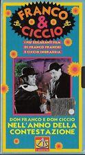FRANCO E CICCIO - DON FRANCO E DON CICCIO NELL'ANNO DELLA CONTESTAZIONE 1970 VHS