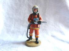 Figurine pompier Delprado - Tenue de feu Bruxelles Belgique 2003 - Fireman