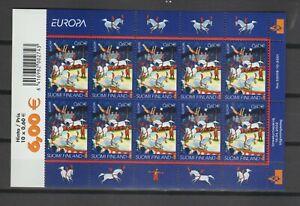 s38748 FINLAND EUROPA CEPT 2002 MNH** MS