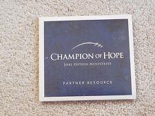 Champion Of Hope - Joel Osteen Ministries Audio CD/CDROM - Partner Resource