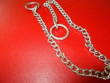 "12"" puppy chock chain collar"