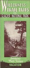 1947 Brochure PANORAMA RANCH Belton Montana Glacier National Park Trail Trips