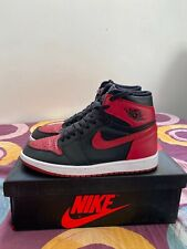 Nike air Jordan 1 BRED 8.5US - 42 eur