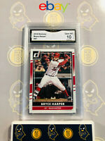 2016 Donruss Bryce Harper #57 - 10 GEM MINT GMA Graded Baseball Card