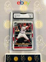 2016 Donruss Bryce Harper #57 - 10 GEM MINT GMA Graded Baseball Card
