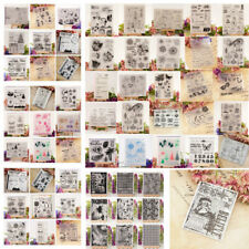 DIY Clear Silicone Stamps Transparent Rubber Stamps Scrapbooking Paper Craft
