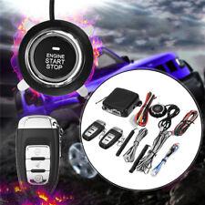 Start Push Button Remote Starter Keyless Entry Alarm System Engine Dc12V 433Mhz