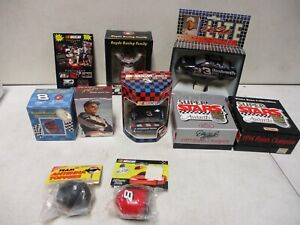 Dale Earnhardt Assorted Lot with Die Cast, Ornaments, Night Light