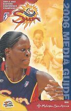 2006 Connecticut Sun WNBA Women's Basketball Media Guide #FWIL