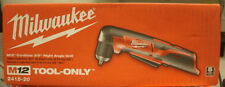 Milwaukee Right Angle Drill 2415-20 M12 12-Volt Lithium-Ion 3/8 in. Cordless
