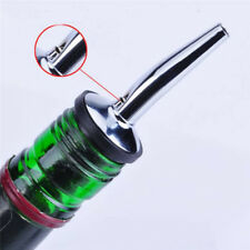 Stainless Steel Wine Olive Oil Pourer Dispenser Spout Wine Bottle Spout Stopper