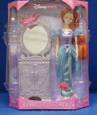 Disney Store Talking Ariel Little Mermaid Princess Doll & Mirrored Vanity  NIB