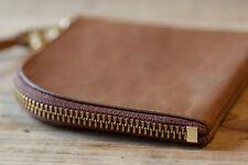 Anchor Bridge x Roberu Zip Wallet (Beige) Horween Horse Leather Made in Japan