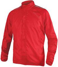 Endura Men's Pakajak Cycling Jacket, size L, red
