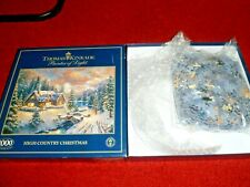 Collection THOMAS KINKADE - Painter of Light-1000 Piece - HIGH COUNTRY CHRISTMAS
