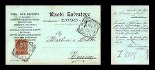 Lugo (RA) - Randi Salvatore - Fabbrica e deposito liquori - 12.12.1900