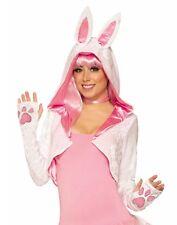 Bunny Womens Adult Cute Animal Shoulder Cover Costume Shrug-Std