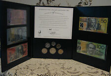 Complete Set of 1997 Notes and coins in Presentation Folder Nice Scarce