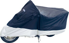 WPS DELUXE MOTORCYCLE COVER L BLUE/SILVER