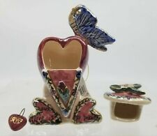 Valentine Hearts Butterfly Heather Goldmine Your Love Is Top Drawer 2000