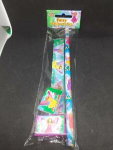 6  x Fairy 4 Piece Stationary Sets  Party Bags, Weddings or  Piña Free P&P to UK