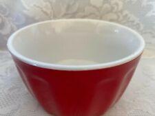 New listing Collectible Royal Norfolk Red Ceramic/Stoneware Ramekin / Baking Dish / Bowl