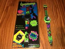 NOS Vintage Nelsonic GOOSEBUMPS Cool Watch Scary Hologram + Bonus Watch