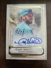Gary Sheffield 2021 Topps Tier One Talent On-Card Signed Auto #'d /300