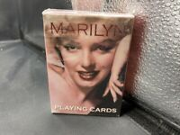 VINTAGE PLAYING CARD DECK SEALED MARILYN MONROE - BICYCLE