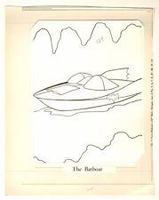batman coloring book art p124 batboat whitman 1966 by jason studios - Batman Coloring Book