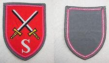 BW013 WEST GERMAN BUNDESWEHR PATCH ARMY PANZER SCHOOL