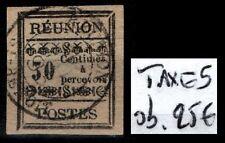 RÉUNION : Timbre TAXE n°5, Oblitéré = Cote 25 € / Lot DOM TOM II