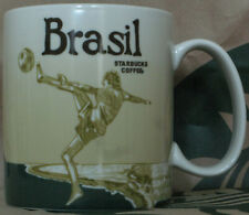 Starbucks Global Icon City Mug Brasil Brasilien, 16 oz neu mit SKU, ** HTF **