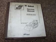 Bobcat Ingersoll Rand MT50 Mini Skid Steer Loader Shop Service Repair Manual