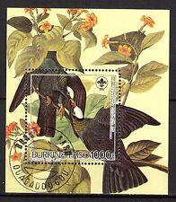 0140++BURKINA FASO  BLOC  OISEAUX AUDUBON