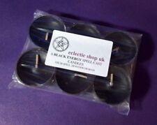 Collares y colgantes de bisutería de plástico de color principal negro