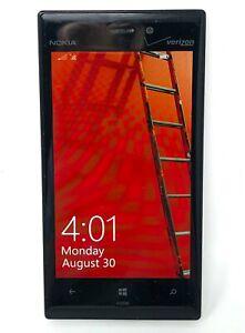 Nokia 928 Lumia 32GB Verizon Wireless 4G LTE Windows Smartphone White Tested 8.1