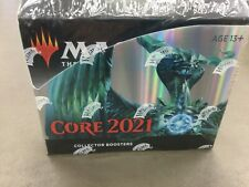MTG Core Set 2021 Factory Sealed Collector Booster Box