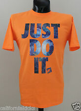 NIKE Just Do It T-Shirt sz 2XL XX-Large JDI Galaxy Edition Orange Foamposite Max