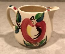 Vintage Purinton Pottery Apple Creamer w/o lid. Excellent Condition