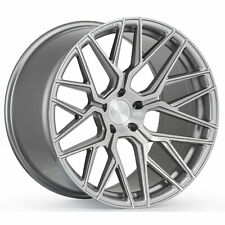 "19"" ROHANA RFX10 BRUSHED TITANIUM RIMS WHEELS FOR INFINITI G37 Q50 Q60 M35 M45"
