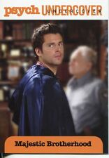 Psych Seasons 1-4 Undercover Chase Card U07 Majestic Brotherhood