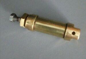 Pneumatic Cylinder ,vintage brass
