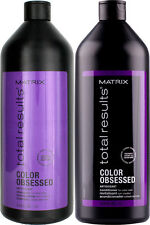 MATRIX TOTAL RESULTS COLOR OBSESSED SHAMPOO AND CONDITIONER 1 LITRE WITH PUMPS