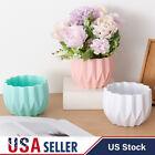 Nordic Style Plastic Vase Flower Plant Holder Container Bud Pot Home Decor US