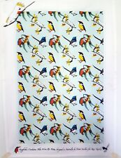 Tea Towel -Australian Birds - Cockatoo - Kingfisher - Blue Wren Pitta100% Cotton